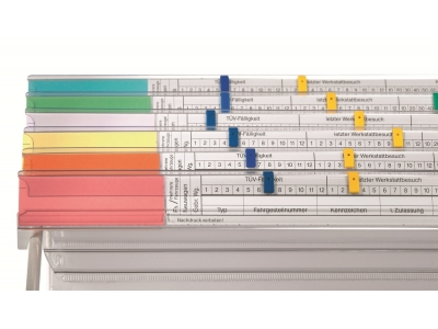 Planungs- und Terminstreifen für VISIMAP