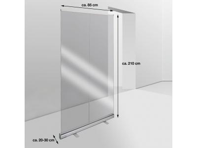 Mobile Hygieneschutzwand