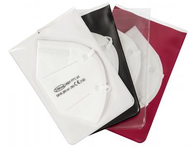 Aufbewahrungstasche inkl. 3 FFP2-Masken
