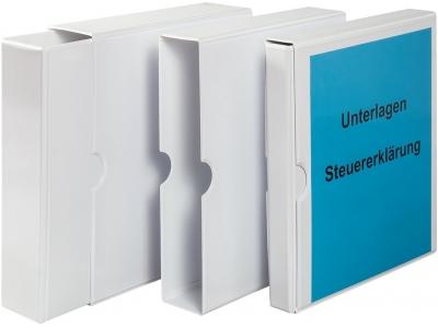 Präsentations-Schuber inkl. Ringbuch aus PVC