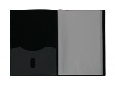 Sichtbuch, weiß mit Streifenoptik