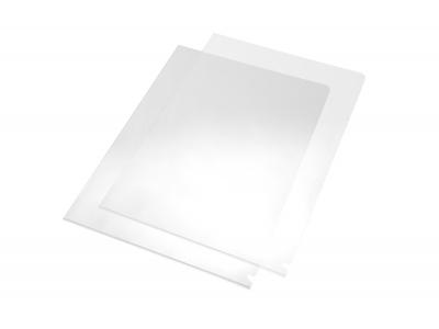 Stabile PVC-Aktenhülle rechts & oben offen