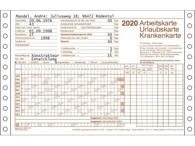 AUK-Karte für Drucker für 2020