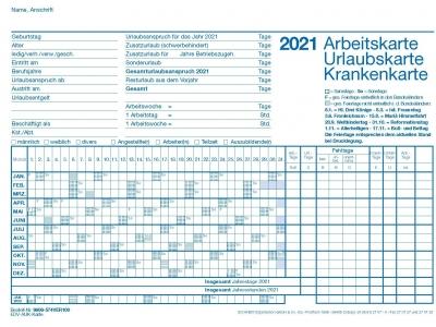 AUK-Karte für Drucker für 2021