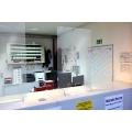 Hygieneschutzwand für Theken und Tresen