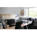 Hygieneschutzwand für Bürotische und Arbeitsplätze