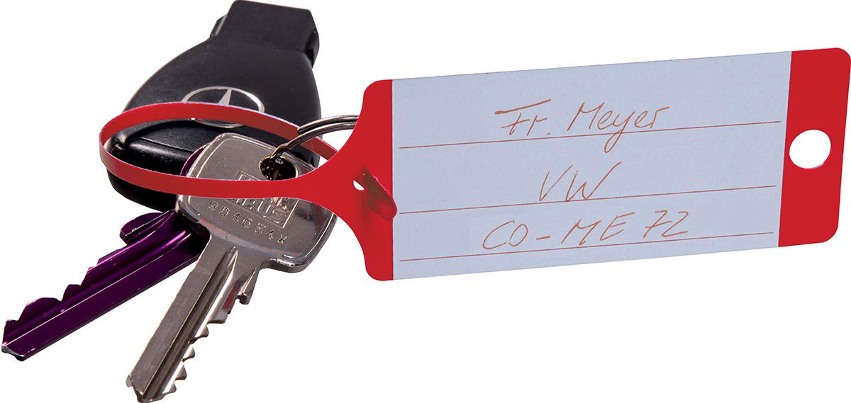 Eichner Schlüsselanhänger aus PP rot