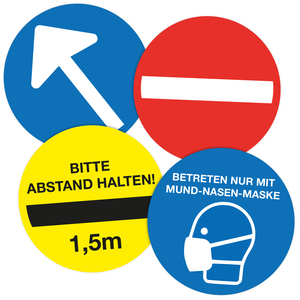 9220-00040-001 - Guide-Sticker mit Motiv Faecher
