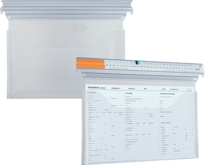 9031-00133 - Organiser pocket visimap DIN A4 with a separate head rail overview