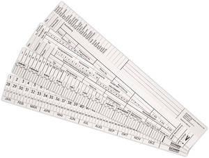 9036-00052 - Visimap Planning appointment strips overview