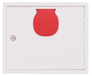 9201-00021 - Key handover box white