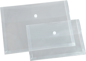 9219-00189 - Transparent pocket with expanding fold fan