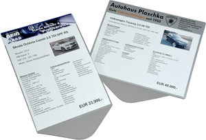 9219-01001 - Sales signs within individual print on edge