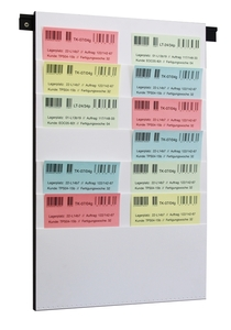 9219-02211 - Document planning board for DIN A3 + A4 6 slots white
