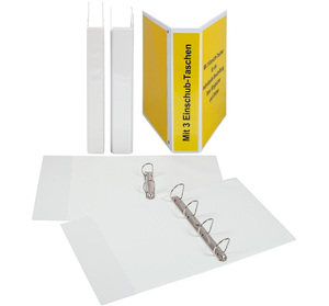 9302-00212 - PVC presentation ring binder different sizes