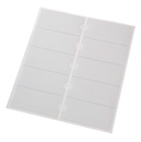 9218-02003 - Self-adhesive file spine pockets transparent