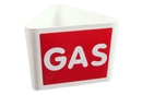 "9218-02019 - Roof sign with text ""GAS"""