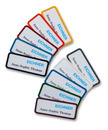 9218-03004 - Plastic name badges