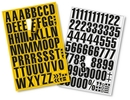 9218-03028 - Magnetic peel-off numbers and letters