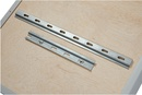 9219-02020 - Card board wall mounting profile rail