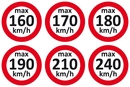 9240-00001 - Speed stickers