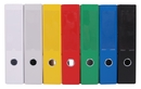 9302-02027 - PVC file 80 mm spine width colored with finger hole