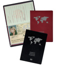 9707-00232 - Passport case made of pvc-film