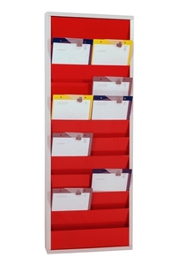 9019-00202-05 - Workshop planner 2 rows red