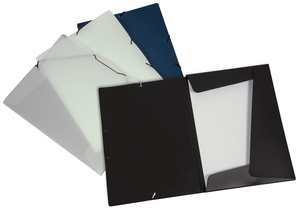 9038-00739 - Flap folder with elastic bands A4 Overview colored