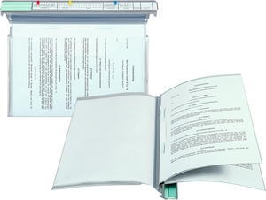 9209-00767 - Hanging file as Personnel binder and credit file transparent