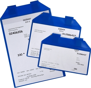 9218-03027 - Magnetic document pocket overview