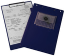 9015-00343 - Service board with notepad clip blue