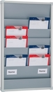 9019-00205 - Workshop planner slim 6 rails grey