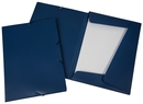 9038-00739 - Flap folder with elastic bands A4 blue