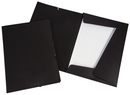 9038-00740 - Flap folder with elastic bands A4 black