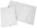 9038-00741 - Flap folder with elastic bands A4 white