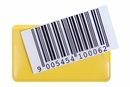 9218-02374 - Label holder self-adhesive magnetic yellow