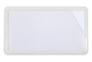 9218-02373 - Label holder big with label white