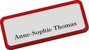 9218-03006 - Plastic name badge red