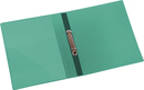 9330-00783 - Presentation ring binder made of PP 2-ring system green