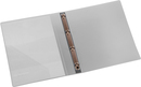 9330-00786 - Presentation ring binder made of PP 4-ring system transparent