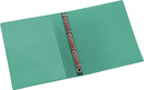 9330-00789 - Presentation ring binder made of PP 4-ring system green