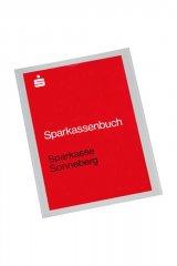 Sparkassenbuch der Sparkasse Sonneberg